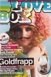 Lovebox festival magazine - issue one