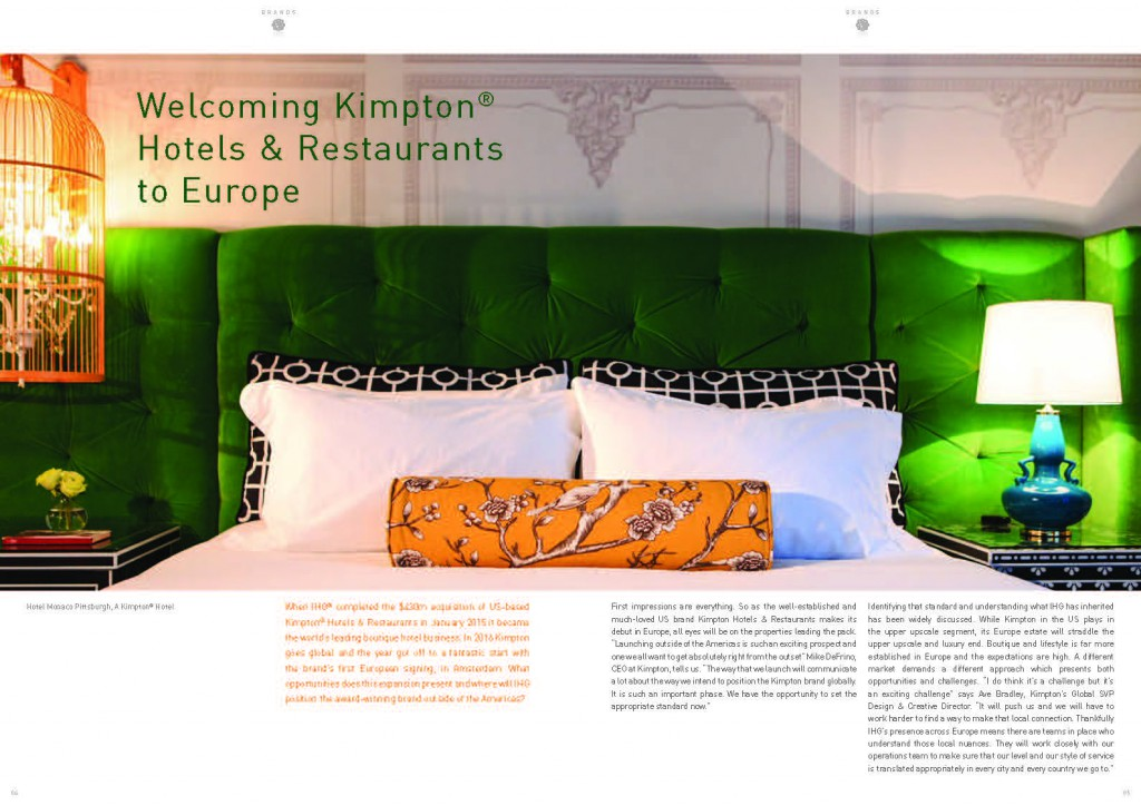DQ - Welcoming Kimpton to Europe